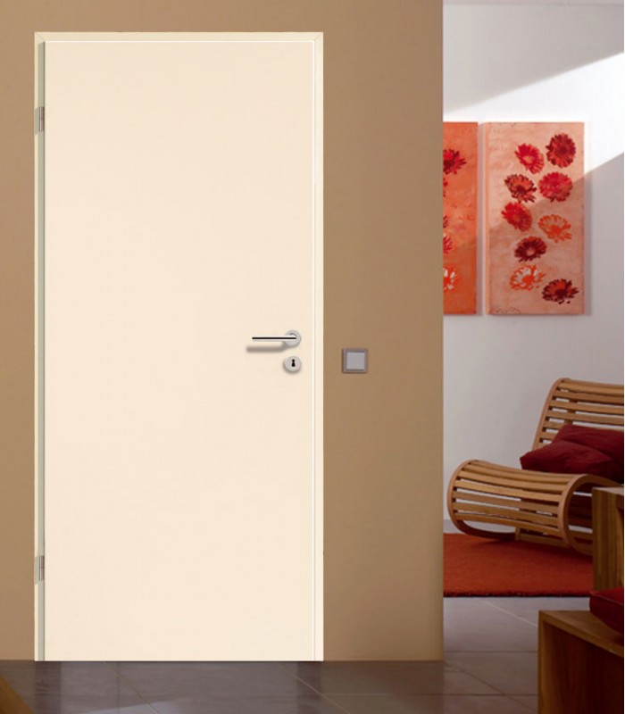 Cream Wooden Doors Solid Internal Doors German Quality