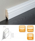 Berlin Skirting Board - MDF White Painted