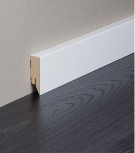 Topline MDF White Painted Skirting Board 2.1