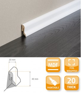 FBL 44E Skirting Board - MDF Primed Foil