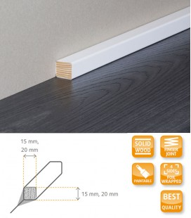 Square Moulding - Solid Timber Wrapped