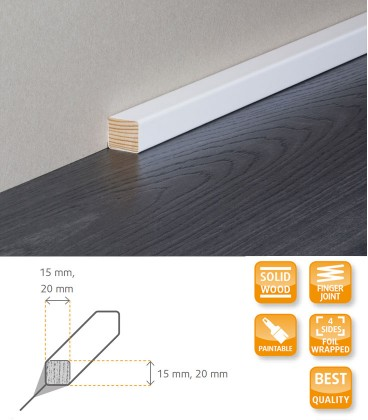 Square Moulding Solid Timber Wrapped 1.1