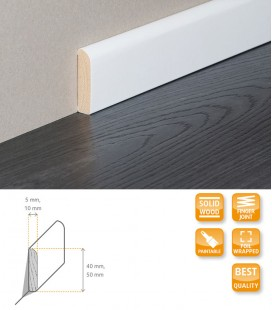 Skirting Board Solid Timber Wrapped 1.1