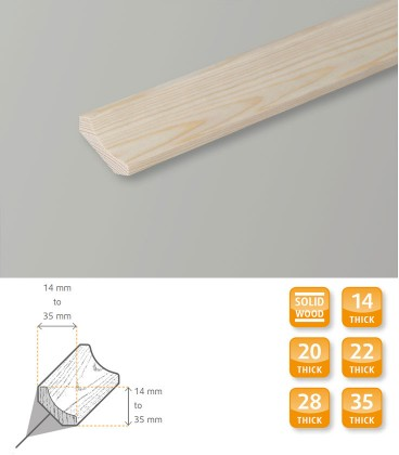 Scotia Pine Moulding 1.1