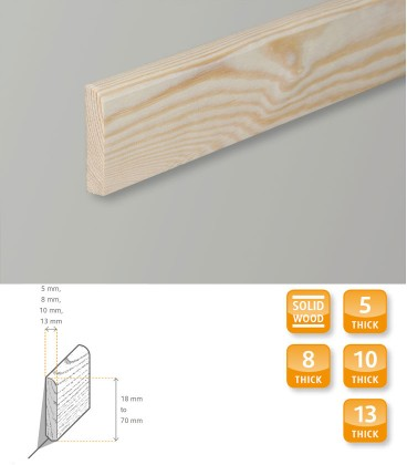 Skirting Board Pine Moulding 1.1