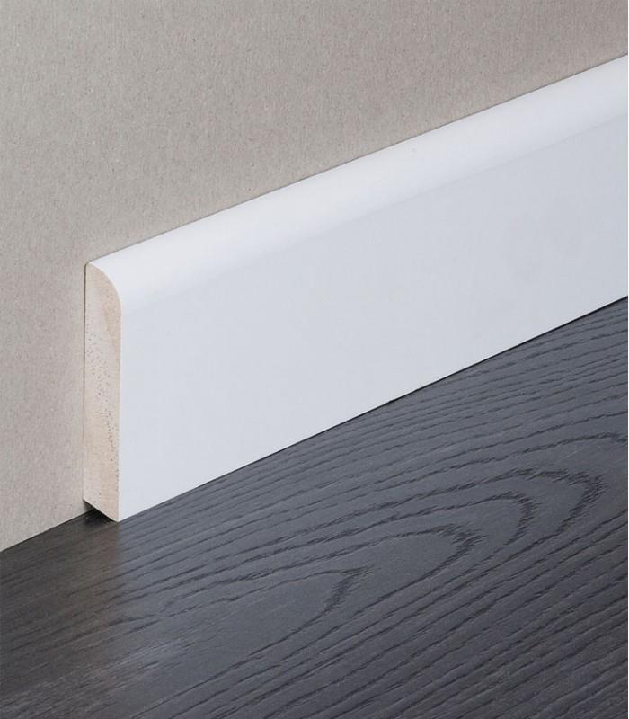 Skirting Board Pine White Painted