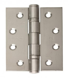 Ball bearing fire rated stainless steel hinge