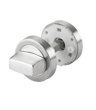 Thumbturn and release WC lock stainless steel polished chrome 2.1