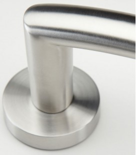 Basic handle stainless steel for glass latch 2.1
