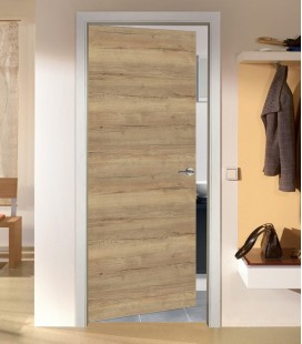 Rustic Oak Crosswise FD30 Door