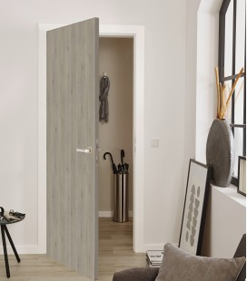 Silver Internal Doors - Fire Rated - Grey Doors