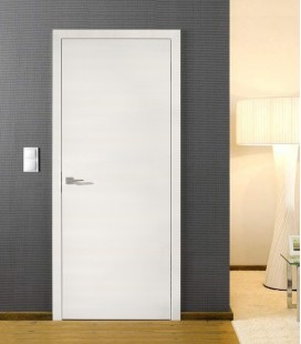 Structural White Crosswise - Fire Rated Doors