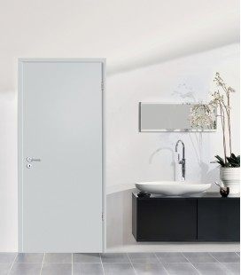 Light Grey Matte Doors - Fire Rated Doors