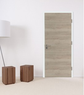 Sand Oak Fire Doors - Horizontal Grain