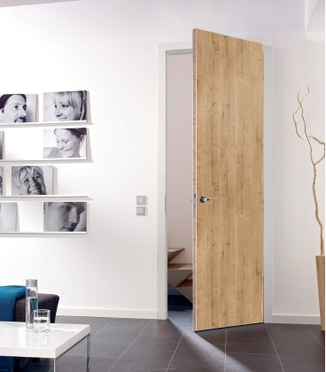 Knotty Oak Fire Rated Door