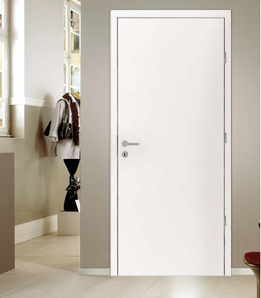 White internal fire doors