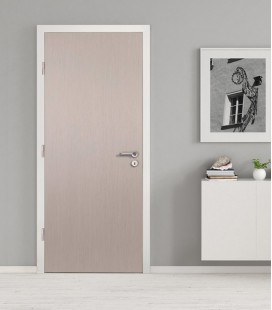 Light Grey Real Wood Veneer Fire Rated Door