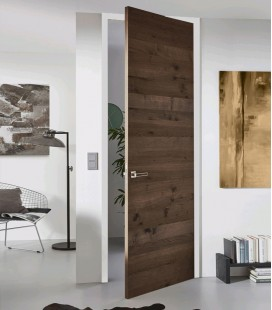 Titan Luxury Real Wood Veneer Fire Rated Door