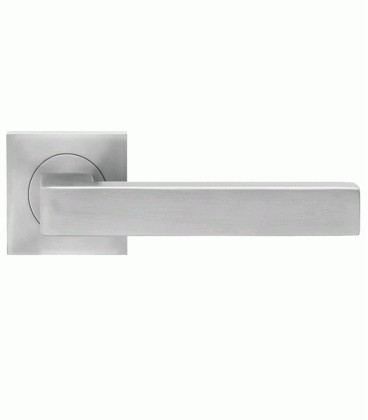 Square handle stainless steel for glass latch