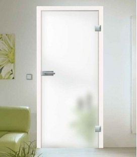 Frosted Toughened Glass Door
