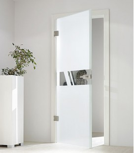 Aero glass door