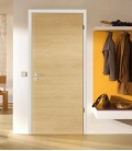 Maple Real Wood Veneer Fire Rated Door