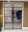 Double Doors with 3 Metal Profiles
